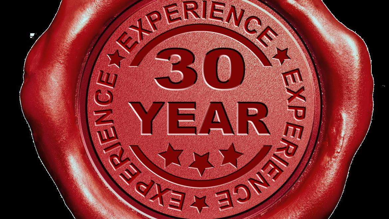 Über 30 Jahre Erfahrung